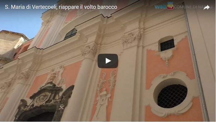 S. Maria di Vertecoeli, riappare il volto barocco