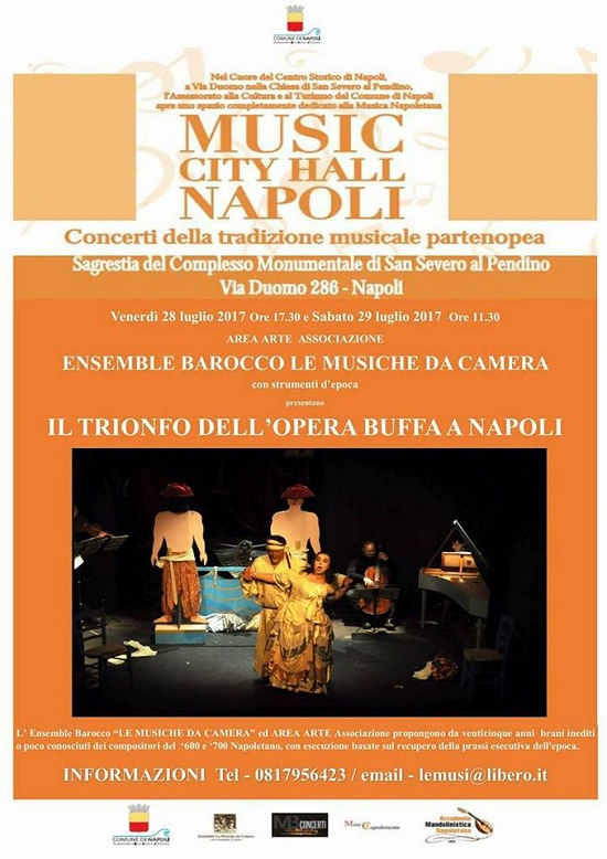 Il Trionfo dell'Opera Buffa Napoletana – Music City Hall Napoli