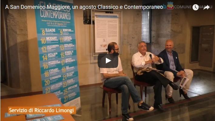 A San Domenico Maggiore, un agosto Classico e Contemporaneo