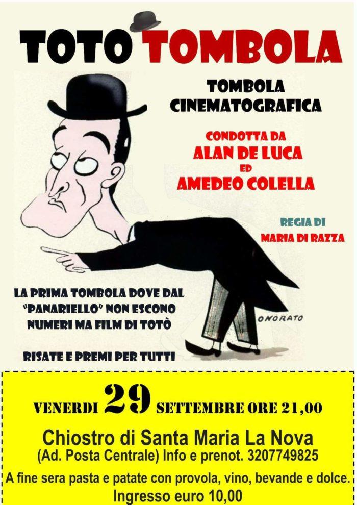 TotoTombola – Tombola cinematografica condotta da Alan de Luca