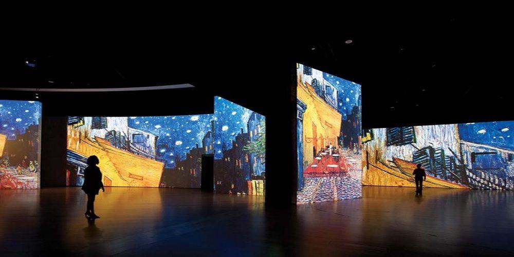 """""""The Immersive Experience"""", Viaggio in 3D nell'arte di Van Gogh, a Napoli dal 18 novembre al 25 Febbraio"""