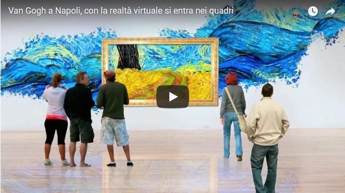 Van Gogh a Napoli, con la realtà virtuale si entra nei quadri