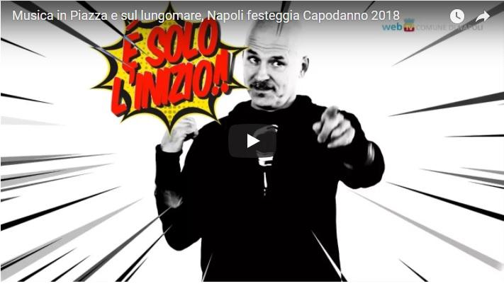 Musica in Piazza e sul lungomare, Napoli festeggia Capodanno 2018