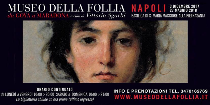 Da Goya a Maradona, Follia ed arte si incontrano a Napoli