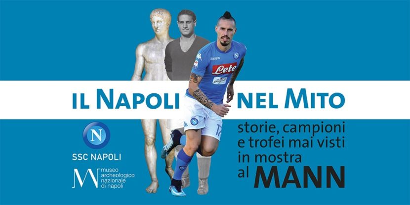Il Napoli nel mito: Storie, Campioni e trofei mai visti, in mostra al MANN
