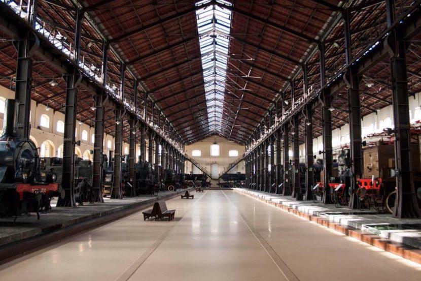 Museo Nazionale Ferroviario di Pietrarsa – Mostra dedicata alla prima linea ferroviaria italiana