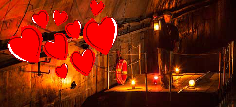 San Valentino in zattera alla Galleria Borbonica