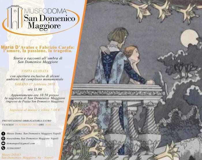 Maria d'Avalos e Fabrizio Carafaore – Storie e racconti alI'ombra di San Domenico Maggiore