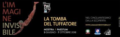 """""""L'immagine Invisibile"""", mostra al Museo Archeologico di Paestum su """"La Tomba del Tuffatore"""""""