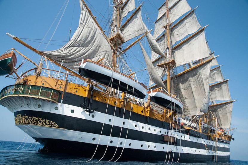 Nave Amerigo Vespucci a Napoli – Giorni e Orari di Visita
