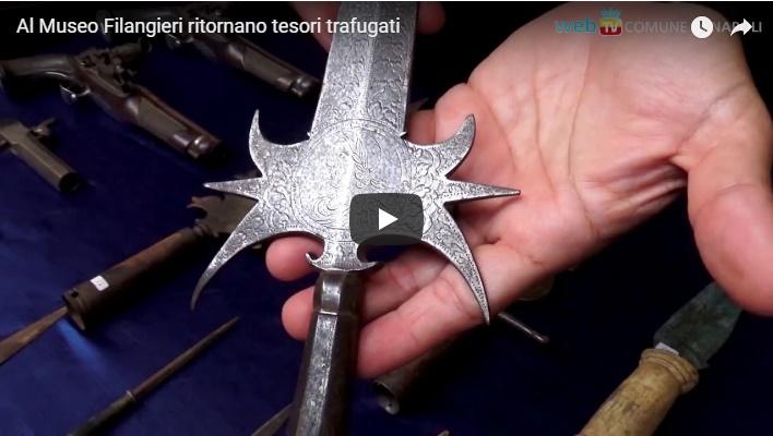 Al Museo Filangieri ritornano tesori trafugati