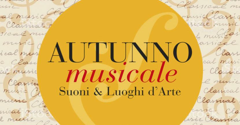 Autunno Musicale, Suoni & Luoghi d'Arte 2018 – XXIV edizione