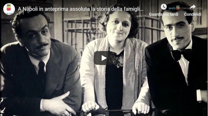 A Napoli in anteprima assoluta la storia della famiglia De Filippo in mostra