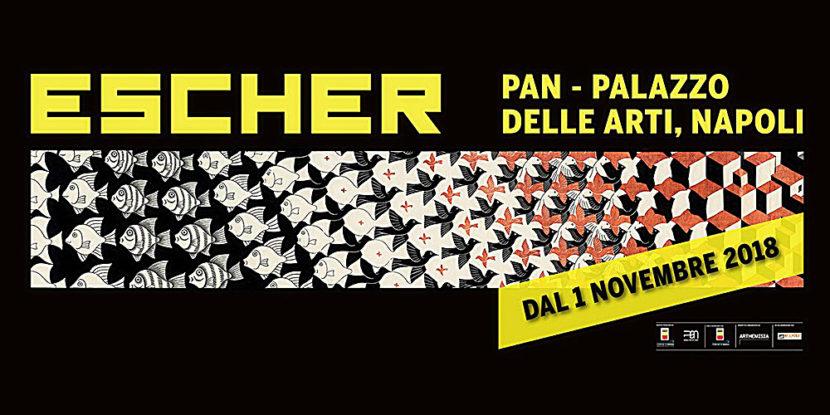 """PAN – Palazzo delle Arti Napoli, mostra sul visionario genio olandese """"Escher"""""""