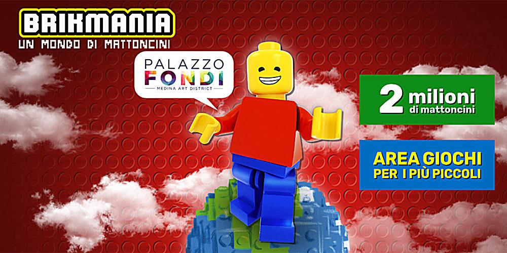 """""""Brikmania"""", a Palazzo Fondi una mostra speciale dedicata al mondo Lego®"""