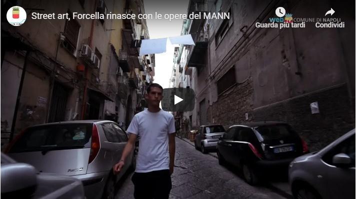 Street art, Forcella rinasce con le opere del MANN
