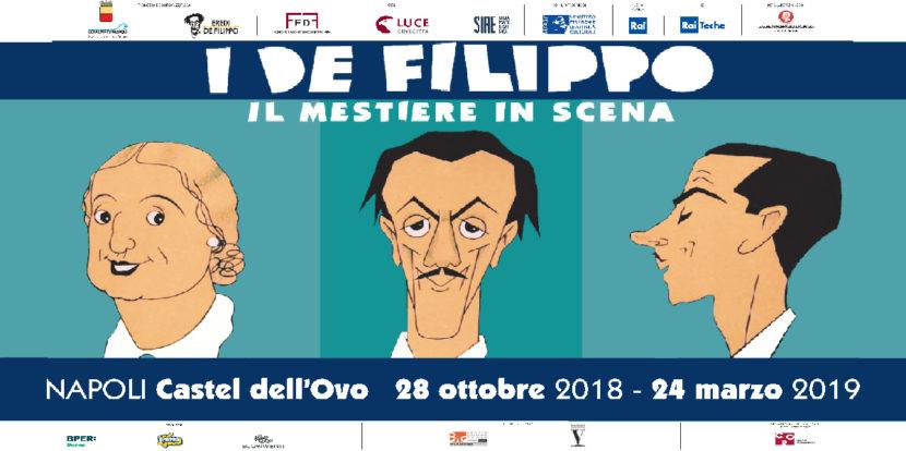 """""""I De Filippo – Il mestiere in scena"""", mostra sulla celebre famiglia teatrale a Castel dell'Ovo"""