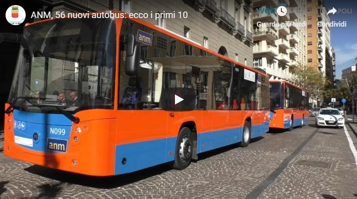 ANM, 56 nuovi autobus: ecco i primi 10