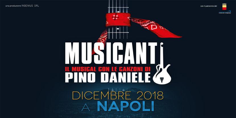"""""""Musicanti"""" – Il Musical con le canzoni di Pino Daniele"""