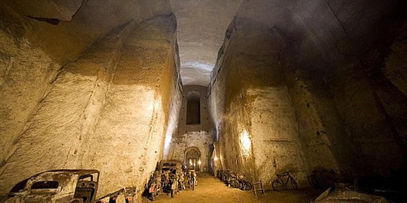 Galleria Borbonica, sospese visite guidate e spettacoli serali fino al 15 marzo