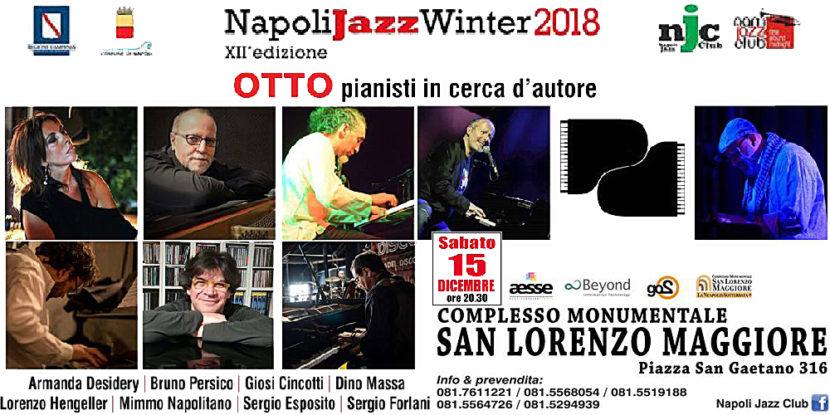 """""""Otto pianisti in cerca d'autore"""" – Concerto per due pianoforti al Complesso Monumentale S. Lorenzo Maggiore"""