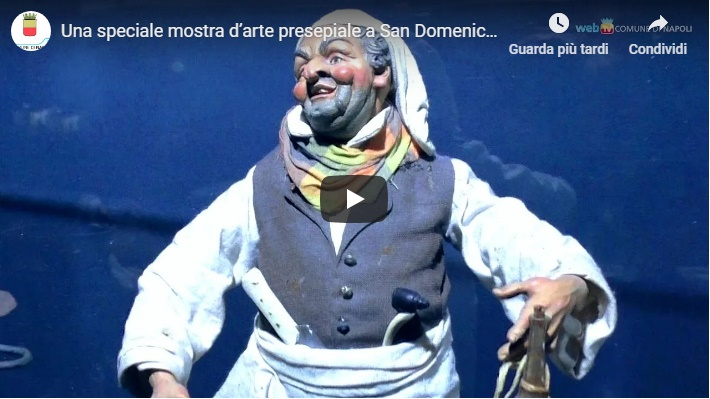 Una speciale mostra d'arte presepiale a San Domenico Maggiore