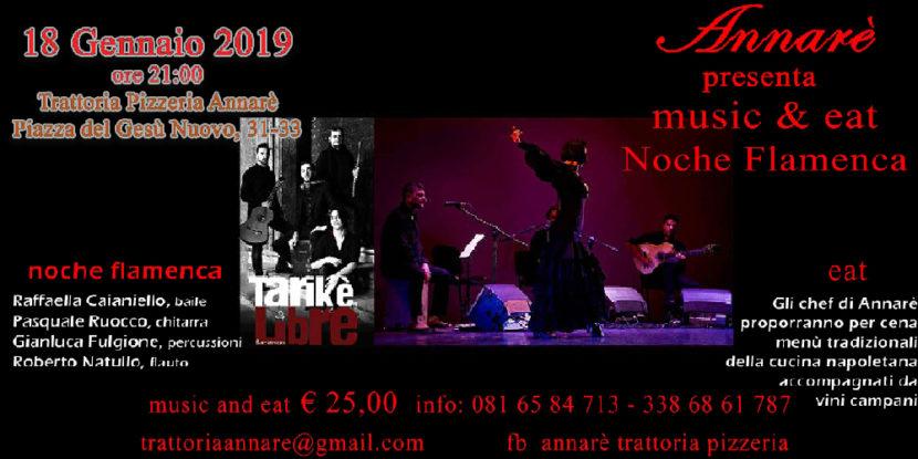 """""""Music & Eat"""" – Noche Flamenca Live in…Annarè"""