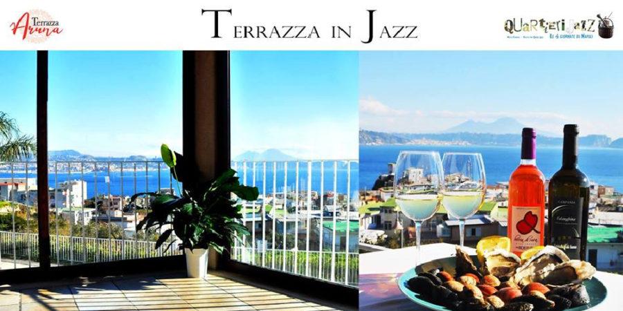 """""""Terrazza in Jazz"""" – Musica, Cibo e Vino sul golfo di Bacoli venerdì 8 febbraio"""