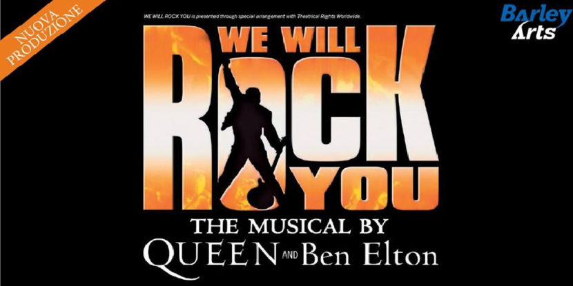 """We Will Rock You"" – Martedì 5 novembre la ""rock opera"" con i successi dei Queen al Teatro Augusteo"