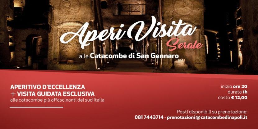 Catacombe di San Gennaro, AperiVisita serale sabato 23 febbraio 2019  – Tour + aperitivo
