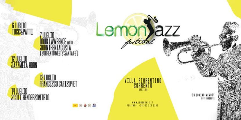 Lemonjazz Festival 2019 – Suoni Internazionali a Villa Fiorentino (Sorrento)