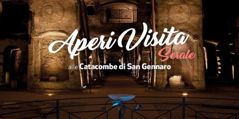 Catacombe di San Gennaro, AperiVisita serale + Tour sabato 29 febbraio 2020
