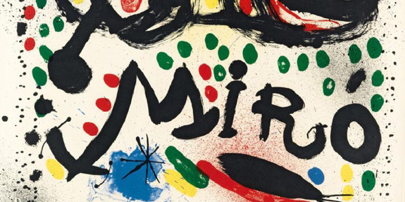 Joan Miró – Il linguaggio dei segni, mostra al PAN|Palazzo delle Arti Napoli