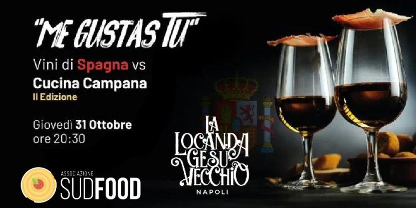 ME GUSTAS TU – Cena Didattica a Tema Spagna VS Campania giovedì 31 ottobre