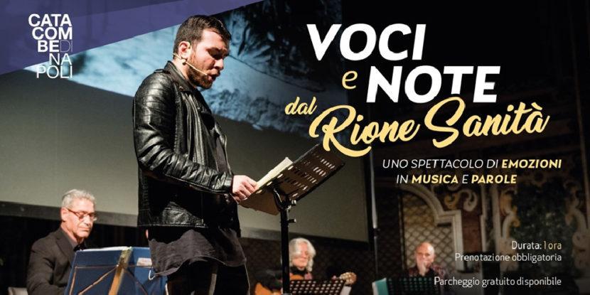 Catacombe di Napoli – Voci e Note dal Rione Sanità, domenica 20 ottobre