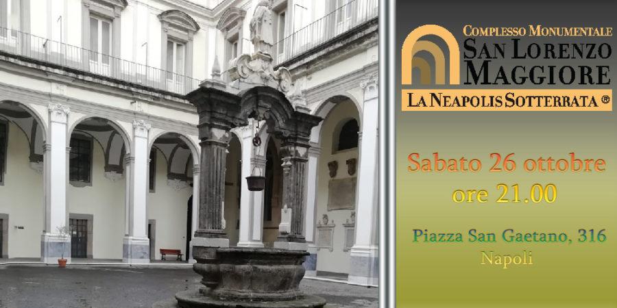 Tarantella Show al Complesso di San Lorenzo Maggiore, sabato 26 ottobre 2019