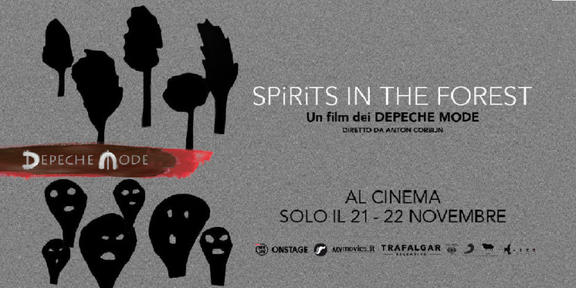 "Depeche Mode – ""Spirits in the Forest"", nei cinema il 21 e 22 novembre 2019"