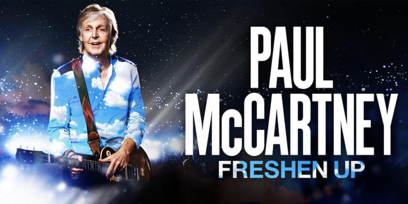 Napoli – Paul McCartney in concerto a Piazza del Plebiscito mercoledì 10 giugno 2020