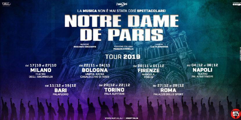 Notre Dame De Paris – Dal 4 all'8 dicembre al Teatro Palapartenope