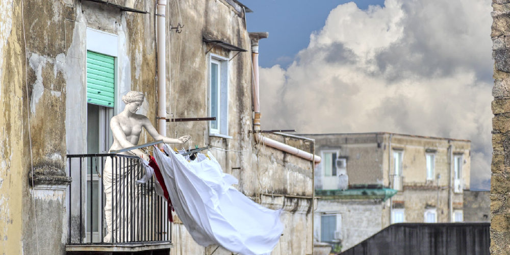 """""""Fuga dal museo"""" – Al MANN la mostra fotografica di Dario Assisi e Riccardo Maria Cipolla fino al 26 febbraio 2020"""