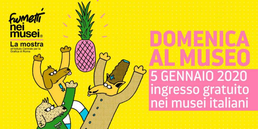 Domenica 5 gennaio 2020, Musei gratis aperti a Napoli e in Campania: i siti da vedere.