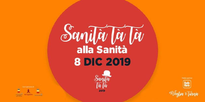 Sanità Tà Tà: Musica e Cultura nel cuore della città – Domenica 8 dicembre 2019