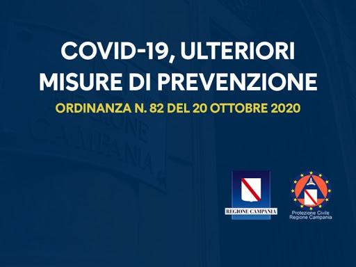 Ordinanza N. 82 del 20/10/2020: divieto spostamenti dalla prov. di residenza da venerdì 23/10