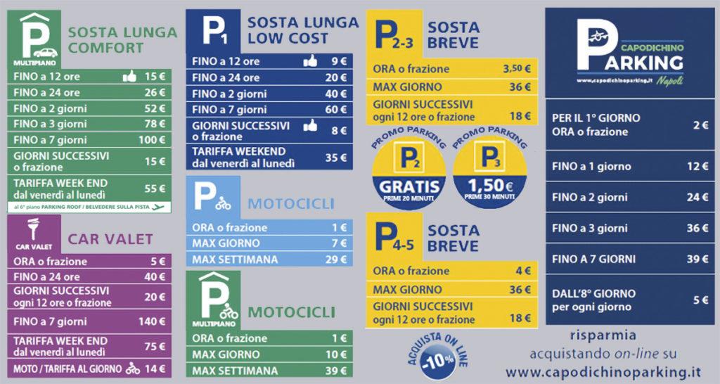 Tariffe Parcheggio Capodichino