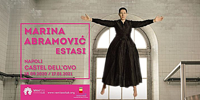 Marina Abramović | ESTASI – Castel dell'Ovo