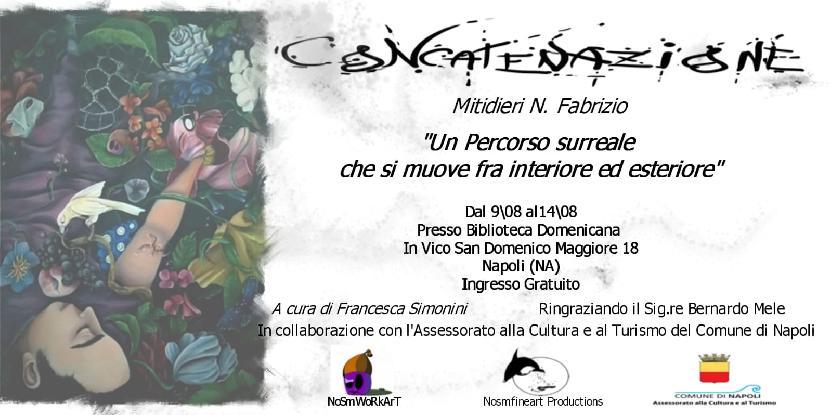 """""""Concatenazione"""", mostra al Convento di San Domenico Maggiore"""